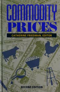 Cover of: Commodity prices | Catherine Friedman